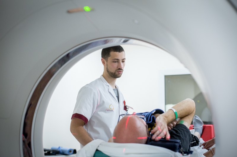 Hôpital Forcilles - service de radiothérapie rénové