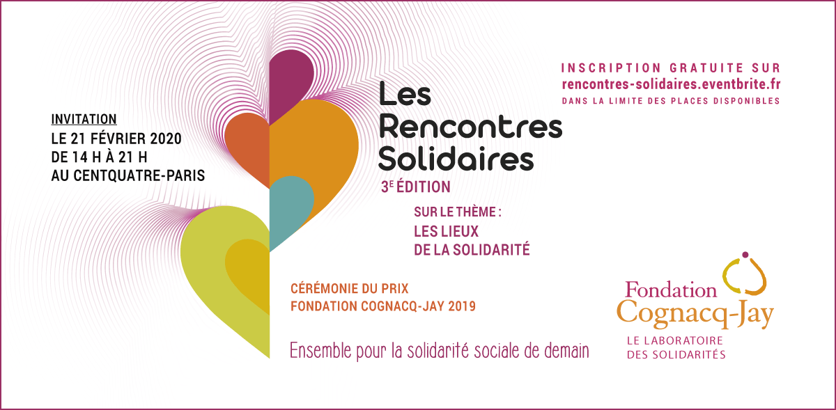 Invitation aux Rencontres Solidaires - 21 février 2020 au CENTQUATRE-PARIS