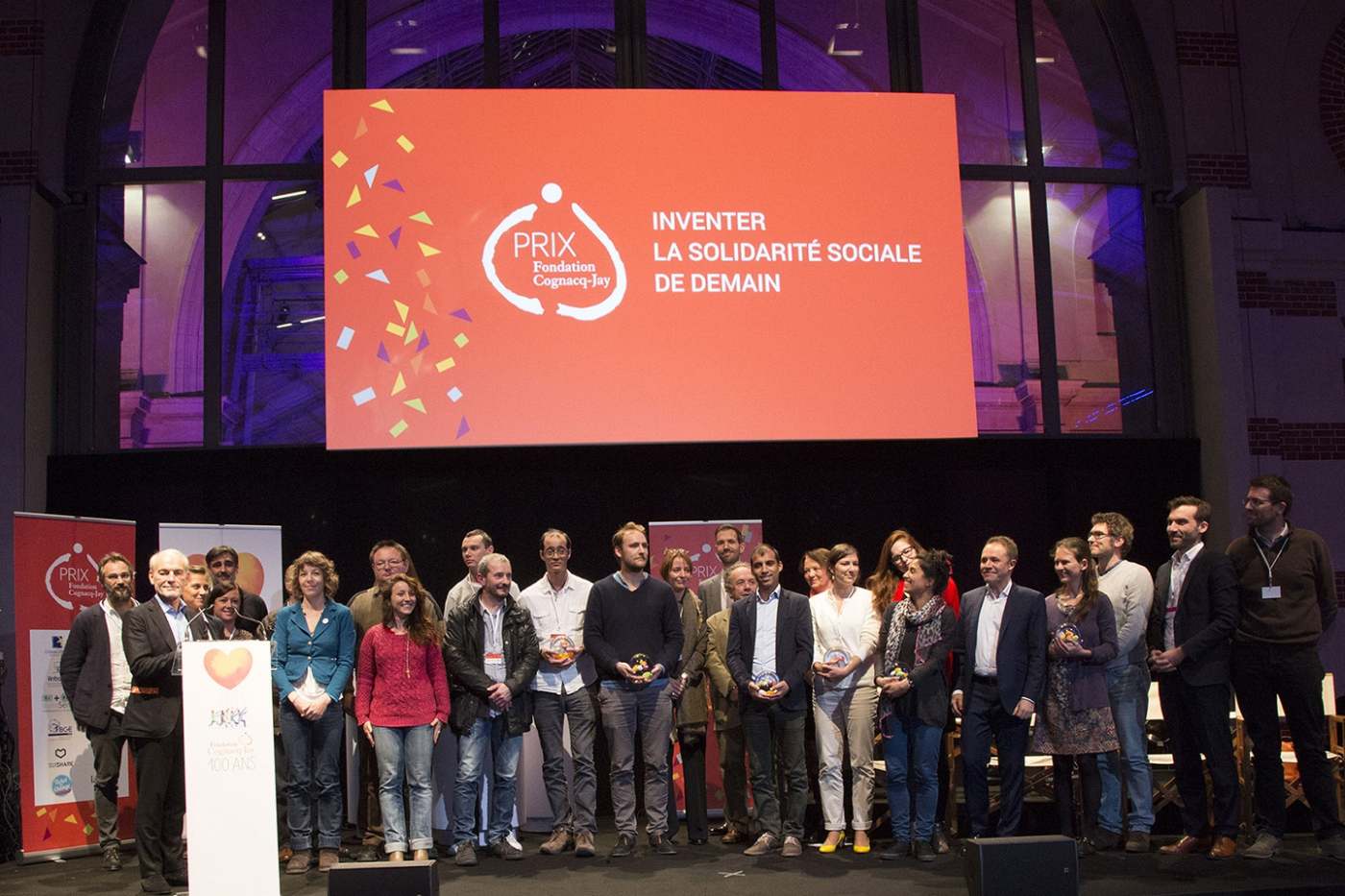 Cérémonie de remise du Prix Fondation Cognacq-Jay aux lauréats